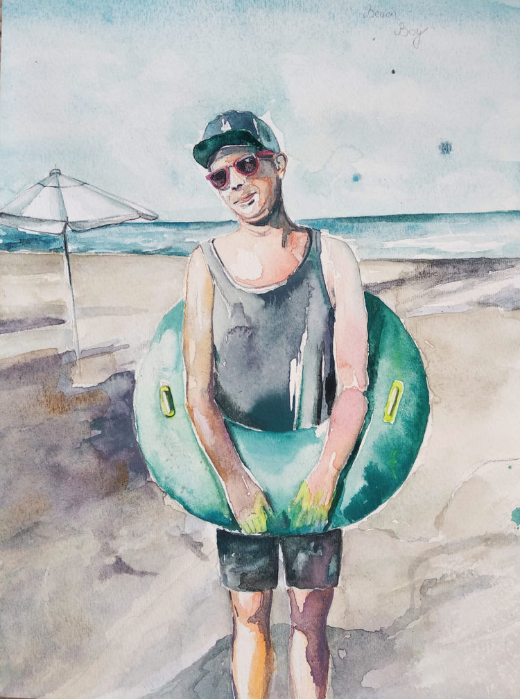 Beach boy in Бургас