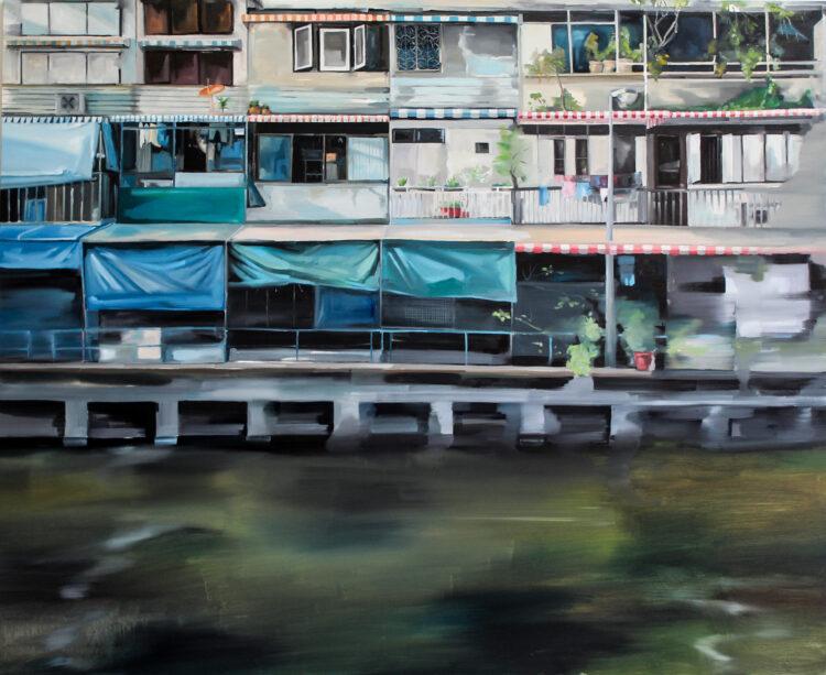 Balconies in Bangkok
